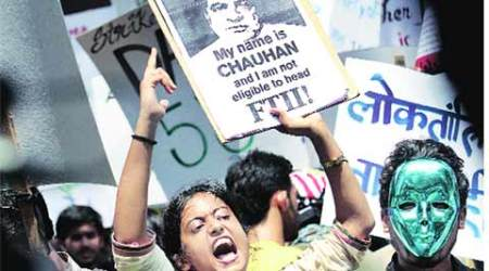 FTII protest reaches Delhi, official to convey students' concerns toministry