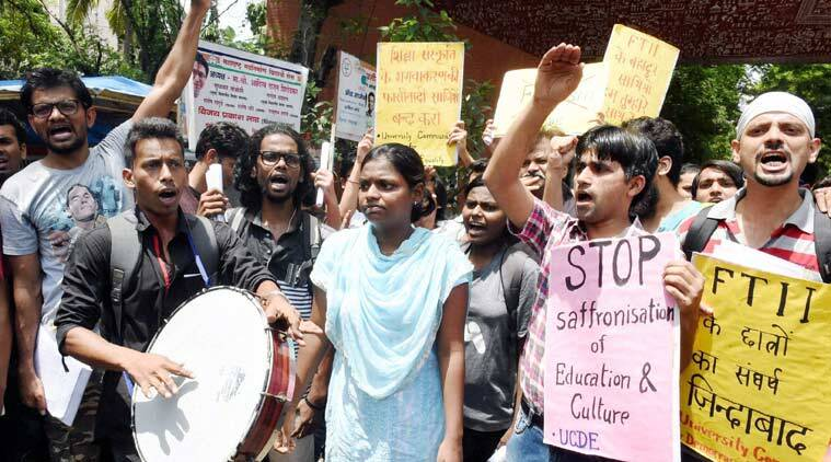 Film and Television Institute of India, FTII, FTII row, FTII director, FTII acting Dean, Prashant Pathrabe, FTII protest, I&B ministry, india news, latest news, top stories