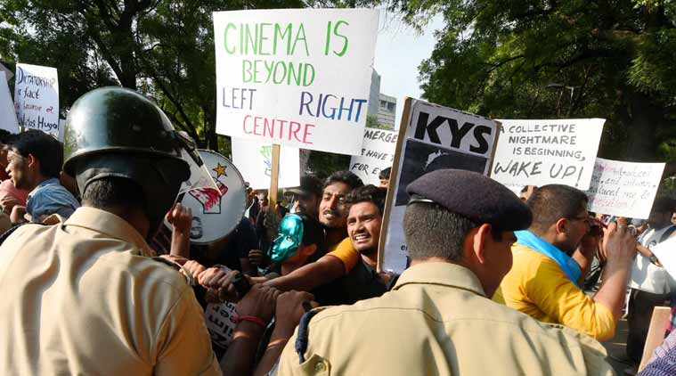 Film and Television institute of India, Trinamool Congress, FTII, FTII protest, FTII row, Gajendra Chouhan, FTII chairman protest, Mamata Banerjee, Derek O'brien, West bengal BJP, west bengal news, Ftii news, india news