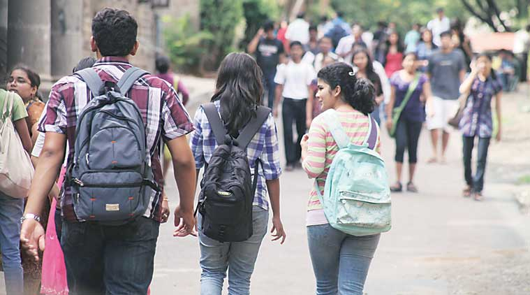 maharashtra, maharashtra govt, maratha quota, college admissions, fyjc admission, fyjc admissions mumbai, fyjc online admissions, students, backward class, ews quota, maratha community, indian express news