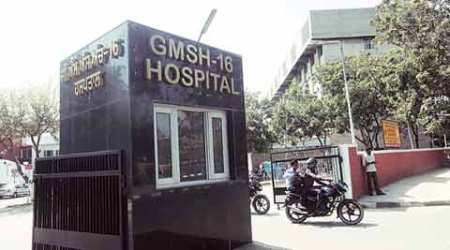 gmsh, gmsh 16, gmsh chandigarh, gmsh 16 chandigarh, government hospital chandigarh, chandigarh government hospital, chndigarh news, india news, indian express
