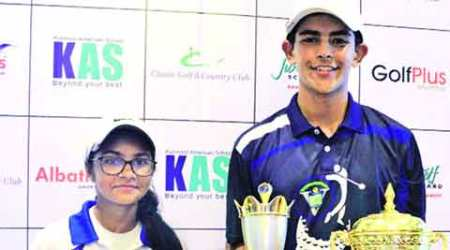 Vivek High School: Duo win Category B golf tournament in Gurgaon