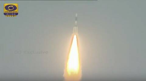 ISRO: First orbit raising operation of GSAT-6 completes successfully