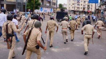 SIT, Thangadh Police firing, Special investigation team, Gujarat government, Gujarat, Thangadh, Rajkot police, India news, Indian express news
