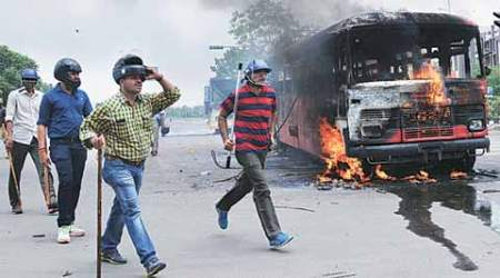 Ahmedabad: Violence after Patel agitation added 30% more cases for 108 emergencyservices