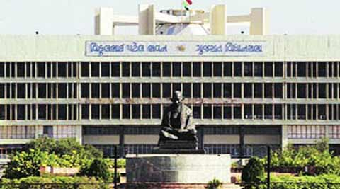 Gujarat Assembly suspends three Congress MLAs, others stage walkout