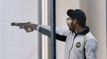 Gurpreet Singh finishes fifth in rapid fire pistol final at shooting WorldCup
