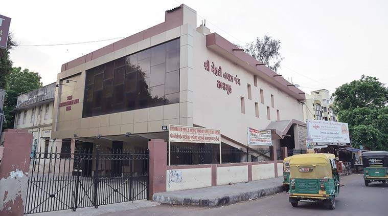 The Mehdi Nawaz Jung Hall in Ahmedabad. (Source: Express photo by Javed Raja)