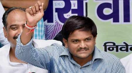 Hardik Patel, Hardik Patel quota protest, hardik patel delhi quota, Hardik reservation protest, quota protest, patidar quota protest, gujarat quota agitation, OBC reservation, OBC reservation protest, gujarat patel quota, india news, nation news