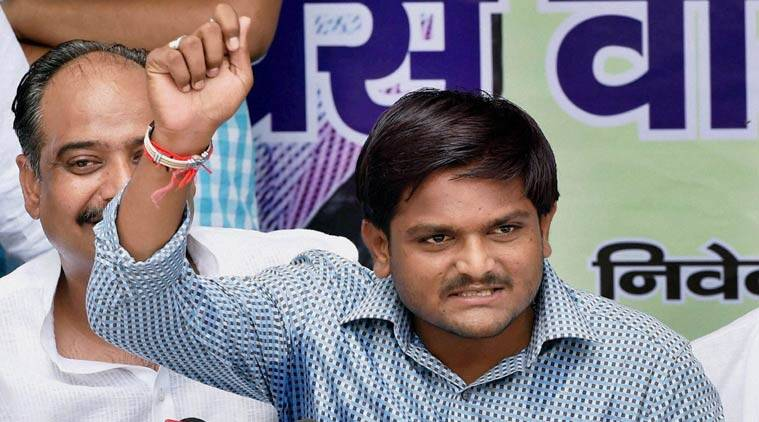 Image result for Gujarat Patidar leader presents wads of notes, alleges BJP tried to buy him