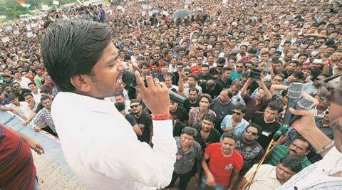 patel protests, hardik patel, patidar protests, patidar rally, patidar protest hardik, patel protest news, india news, gujarat news, gujarat patel protests