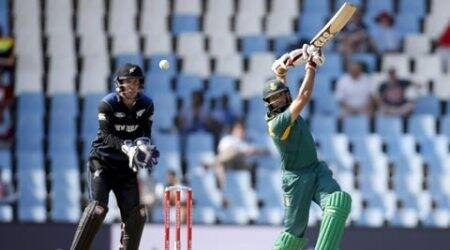 Ton-up Hashim Amla steals show in South Africa's 20-run win in first ODI against NewZealand