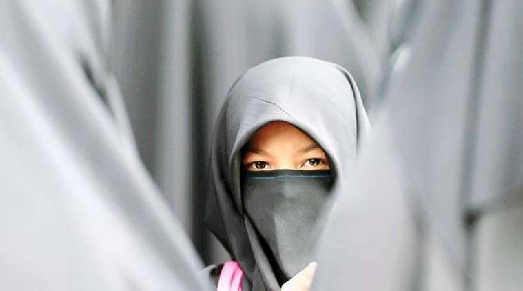 girl banned from wearing hijab, hijab, hijab school controversy, uk school hijab, UK news, world news, latest news, indian express
