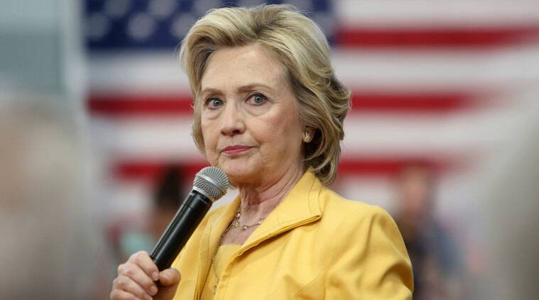 Democratic presidential candidate Hillary Clinton (AP photo)