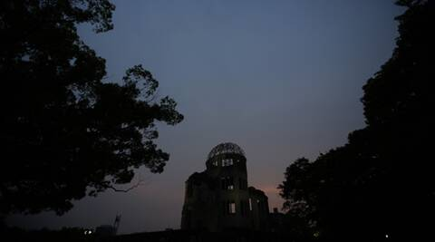 Mission at Hiroshima's dome: Saving blasted bits of history
