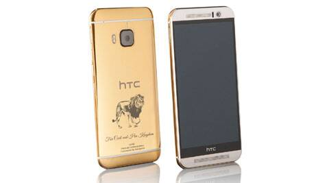 Goldgenie, HTC, HTC One M9, HTC One M9 gold-plated, gold-plated HTC One M9, HTC One M9 specs, HTC One M9 features, HTC One M9 specifications, HTC One M9 price, mobile news, tech news, gadget news, technology