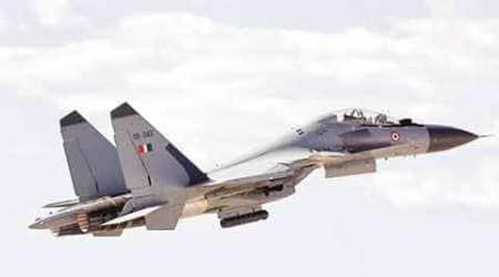 India Air Force, IAF, Sukhoi Su30, Sukhoi fighters, MKI fighters, Indian Air Force, Typhoon, Royal Air Force, Exercise Indradhanush 2015, RAF, IAF, Ashu Srivastav, RAF fighters, indian express