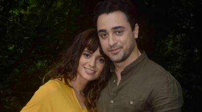 'Katti Batti' pair Imran Khan, Kangana Ranaut shoot for new song