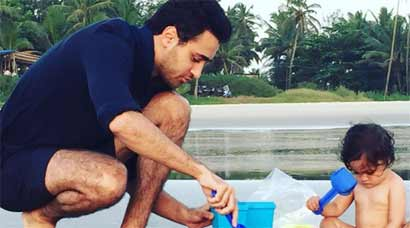 Imran Khan's beach date with daughter Imaara