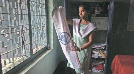District Zero: She folds the Indian flag and unfolds her dream