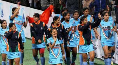 India women's hockey team seals 2016 Rio berth