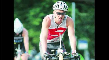 Pune doctor, a veteran 'Ironman', does itagain