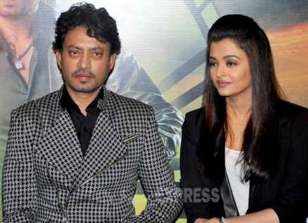 Aishwarya Rai Bachchan, Irrfan Khan, Jazbaa