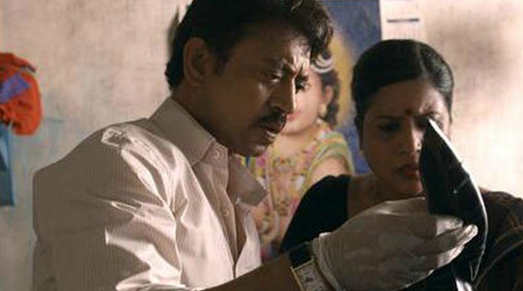 Talvar, Talvar review, Talvar movie, Talvar movie review, Talvar cast, Talvar irrfan khan, Talvar konkona sen sharma, meghna gulzar, Irrfan Khan, Neeraj Kabi, Konkona Sensharma, Sohum Shah, Gajraj Rao, Atul Kumar, Sumit Gulati, Prakash Belwadi, Tabu