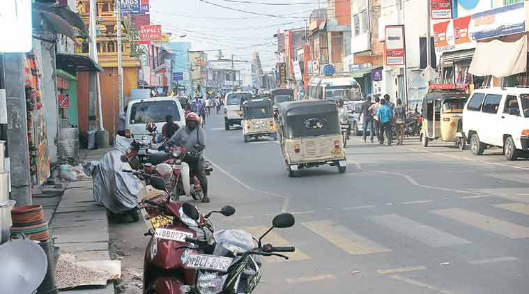 Jaffna is now a bustling city, with shops open till 9 pm, a multiplex showing Tamil films and a KFC outlet. (Sports: Express Photo by Bharat Sundaresan)