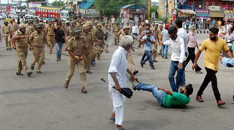 Stray incidents of violence on third day of bandh in Jammu
