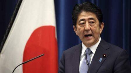 japan, world war ii, shinzo abe, shinzo abe statement, world war anniversary, world war ii anniversery, wwii japan, world war ii japan, china, south korea, japan news, world news, indian express