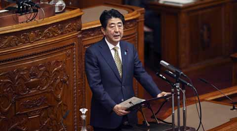 Japan PM Shinzo Abe calls for probe into WikiLeaks claims of US spying