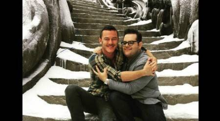 Josh Gad shares picture from 'Beauty and the Beast' set