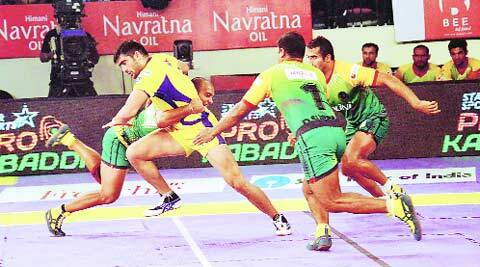 Pro Kabaddi, Pro Kabaddi 2015, PKL, PKL 2015, Jaipur Pink Panthers, Telgu Titans, Kabaddi League, Kabaddi League 2015, Sport news, sports