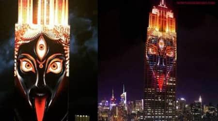 When 'Goddess Kali' emerged over New York's Empire Statebuilding