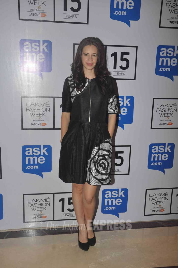 Riteish Deshmukh, Genelia D'Souza, Kalki Koechlin, Jackky Bhagnani, Sapna Pabbi, Shazahn Padamsee, Neha Sharma, Gulshan Devaiah, Rahul Bose, lakme fashion week, LFW 2015, entertainment, LFW pics, lakme fashion week pictures