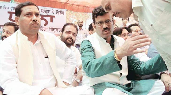 punjab, kamal sharma, BJP, bharatiya janata party, sad, akali dal, BJP punjab news, SAD news, kamal sharma corruption, kamal sharma assistant