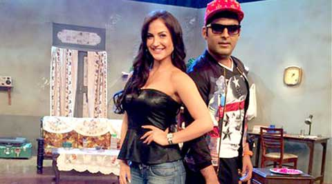 Kapil Sharma, Elli Avram, Kapil Sharma elli avram, Kapil Sharma news, Kapil Sharma tv, Kapil Sharma films, Kapil Sharma debut, Kapil Sharma bollywood debut