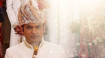 Is Kapil Sharma getting married or shooting a wedding scene?