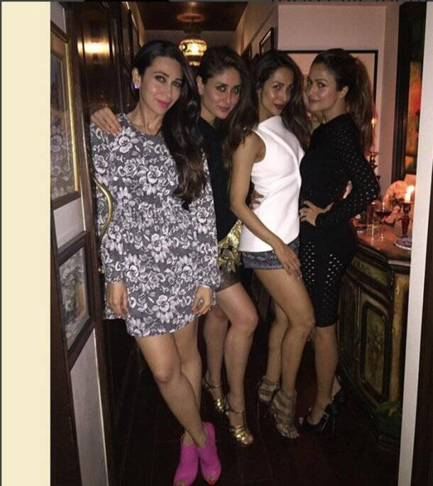Karisma Kapoor, Kareena Kapoor, Malaika Arora Khan, Amrita Arora