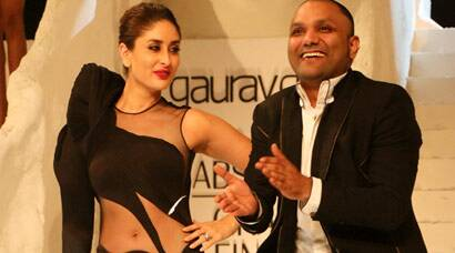 Sizzling Kareena Kapoor brings down the curtains at LFW 2015 with Gaurav Gupta