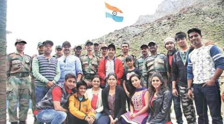 Pune-based artistes take their talent to LoC, perform at Kargil outpost