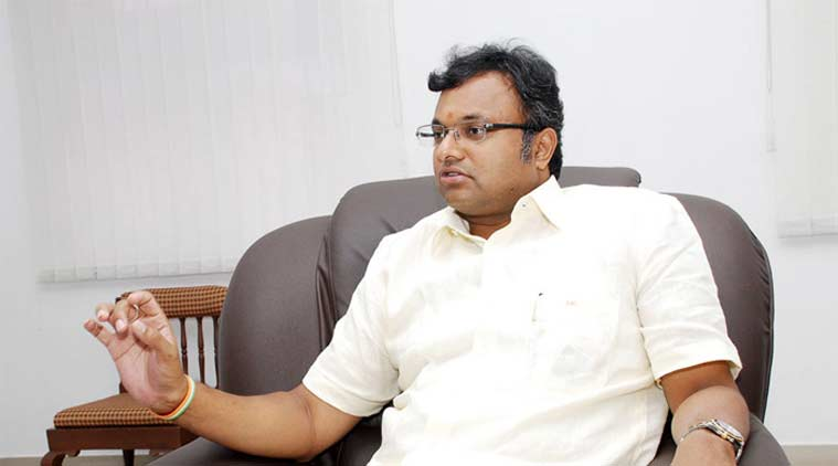 Karti Chidambaram gave a written undertaking to appear before the concerned IT official on June 28.