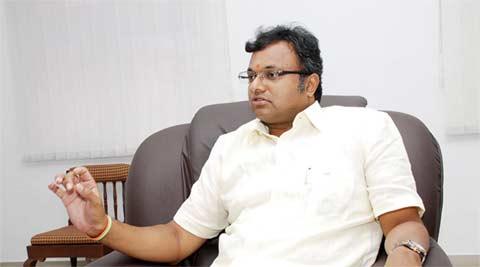 Never been involved in administration of Ziqitza: Karthi Chidambaram