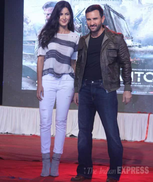 Saif Ali Khan, Katrina Kaif, Phantom