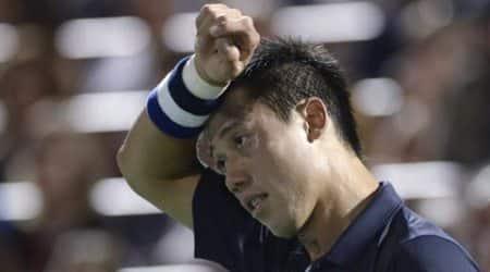 Kei Nishikori, Kei Nishikori Japan, Kei Nishikori Tennis, Kei Nishikori Injury, Cincinnati Open, Cincinnati Open 2015, Sports News, Sports