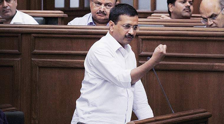 Arvind Kejriwal said he had no enmity with discoms. (Source: Express Archive)