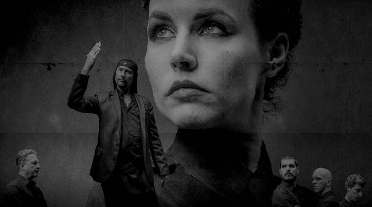 In this promotional photo provided by Slovenian conceptual band 'Laibach', the band's members are depicted. The group has announced they will hold two concerts in Pyongyang next month. The tour will coincide with the ceremonies marking the 70th anniversary of the Korean peninsula's liberation from Japanese colonization, and will include Laibach's own music and popular Korean songs, band leader Ivan Novak told the Associated Press. (Photo Laibach via AP)