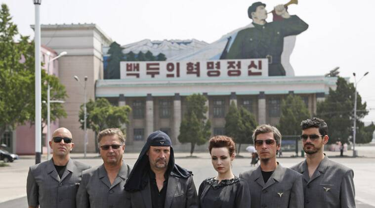 North Korea, North korea rock band, South Korea, laibach, Slovenia laibach, North Korea, North Korea concert, North Korea Laibach, North Korea music concert, laibach news, Slovenian rock band Laibach, World news