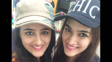 Kriti Sanon celebrates Friendship Day in home town Delhi